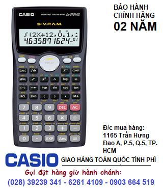 Casio FX-570MS, Máy tính học sinh Casio FX-570MS chính hãng được mang vào phòng thi (Bảo hành 2 năm)  HẾT HÀNG
