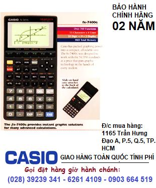 Casio FX-7400G, Máy tính Vẽ đồ thị Casio FX-7400G chính hãng| HẾT HÀNG do hãng không SX nữa