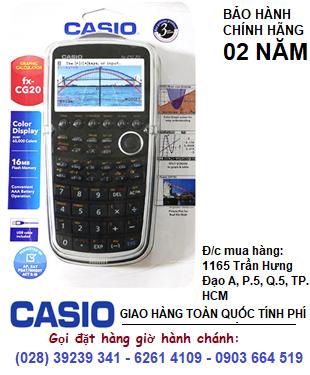 Casio FX-CG20, Máy tính vẽ đồ thị Casio FX-CG20 chính hãng| HẾT HÀNG - không có hàng nữa