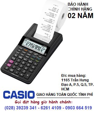 Casio HR-8RC, Máy tính tiền in bill giấy Casio HR-8RC thế hệ mới chính hãng| CÒN HÀNG (mẫu mới)