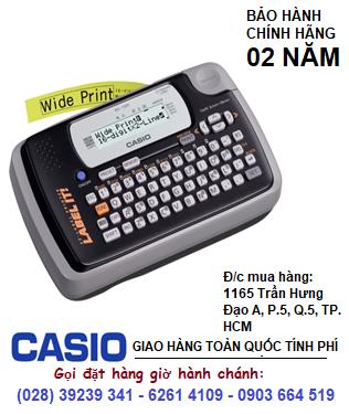 Casio KL-120, Máy in nhãn Casio KL-120 in được 4 loại TAPE | CÒN HÀNG