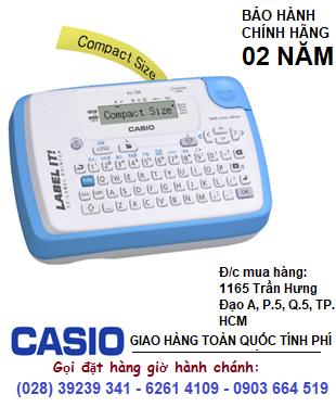 Máy in nhãn Casio KL-130 có định dạng in mã vạch, in được 5 loại Tape | CÒN HÀNG