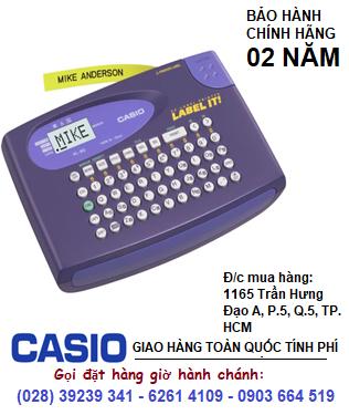 Casio KL-60, Máy in nhãn Casio KL-60, in được 3 loại TAPE | CÒN HÀNG
