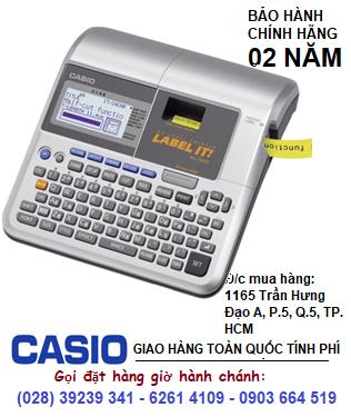 Casio KL-7400, Máy in nhãn Casio KL-7400 in được 5 loại TAPE | CÒN HÀNG