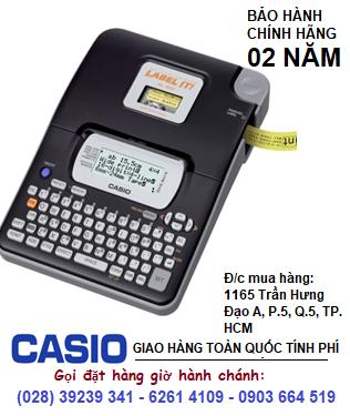 Casio KL-820, Máy in nhãn Casio KL-820 in được 5 loại TAPE| CÒN HÀNG