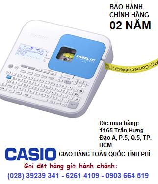 Máy in nhãn Casio KL-G2 có cổng kết nối USD và định dạng kiểu mã vạch chính hãng| CÒN HÀNG