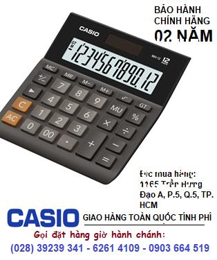 Casio MH-12-BK, Máy tính tiền Casio MH-12-BK loại 12 số Digits có phím GTGT| CÒN HÀNG