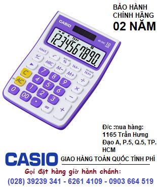 Casio MS-10VC-PL, Máy tính tiền Casio MS-10VC-PL loại 10 số Digits chính hãng| HẾT HÀNG