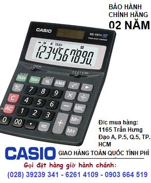 Casio MS-170TV, Máy tính tiền Casio MS-170TV loại 10 số Digits chính hãng| HẾT HÀNG