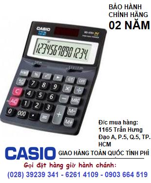 Casio MS-470V, Máy tính tiền Casio MS-470V loại 14 số Digits chính hãng| HẾT HÀNG