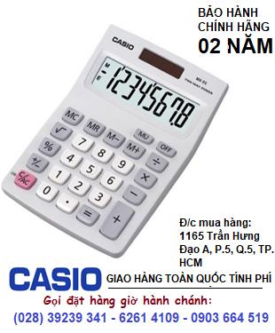 Casio MX-8B-WE, Máy tính tiền Casio MX-8B-WE loại 8 số Digitis chính hãng| HẾT HÀNG