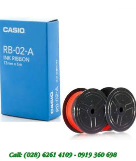 Casio RB-02, Mực in máy tính tiền in Bill Casio RB-02 chính hãng| CÒN HÀNG