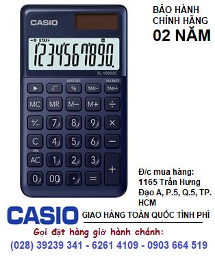 Casio SL-1000SC-NY, Máy tính tiền Casio SL-1000SC-NY loại 10 số DIgits chính hãng| ĐẶT HÀNG