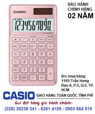 Casio SL-1000SC-PK, Máy tính tiền Casio SL-1000SC-PK loại 10 số DIgits chính hãng| ĐẶT HÀNG