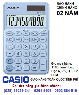 Casio SL-210UC-LB, Máy tính tiền Casio SL-210UC-LB loại 10 số DIgits chính hãng| HẾT HÀNG