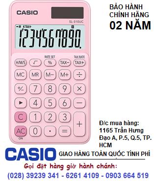 Casio SL-210UC-PK, Máy tính tiền Casio SL-210UC-PK loại 10 số Digits chính hãng| HẾT HÀNG