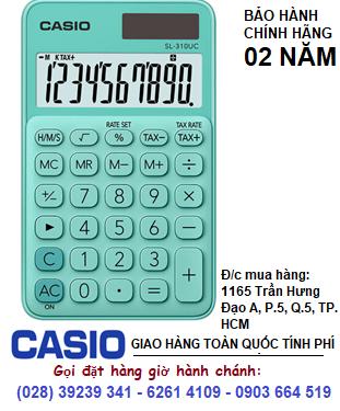 Casio SL-310UC-GN, Máy tính tiền Casio SL-310UC-GN loại 10 số Digits chính hãng| ĐẶT HÀNG