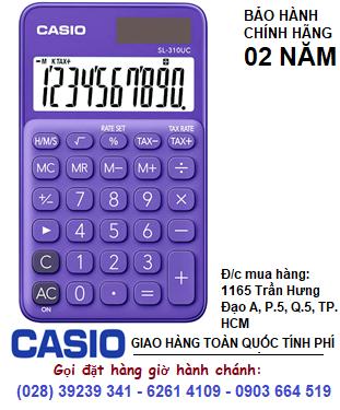 Casio SL-310UC-PL, Máy tính tiền Casio SL-310UC-PL loại 10 số Digits chính hãng| ĐẶT HÀNG