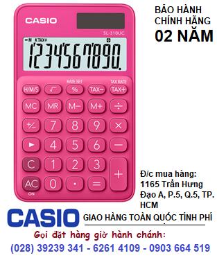 Casio SL-310UC-RD, Máy tính tiền Casio SL-310UC-RD loại 10 số Digits chính hãng| ĐẶT HÀNG