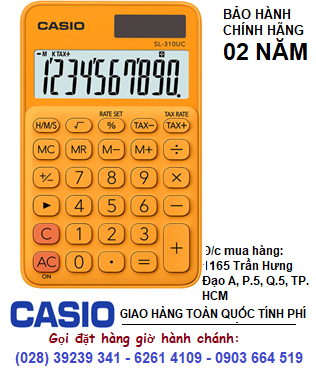 Casio SL-310UC-RG, Máy tính tiền Casio SL-310UC-RG loại 10 số DIgits chính hãng| ĐẶT HÀNG