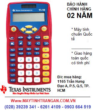 Texas TI-10 , Máy tính Texas Instruments TI-10 cho Học SInh tiểu học| CÒN HÀNG-ĐẶT HÀNG TRƯỚC