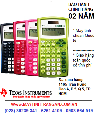 Ti-30XIIS, Máy tính khoa học Học sinh TI-30XIIS™ Scientific Calculator | HẾT HÀNG-ĐẶT HÀNG CHỜ NHÉ !