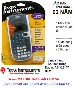 Ti-30XS, Máy tính khoa học Học sinh Texas Instruments Ti-30XS | HẾT HÀNG-ĐẶT HÀNG CHỜ NHÉ !