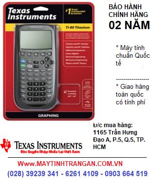 Ti-89 Titanium, Máy tính khoa học lập trình vẽ đồ thị Texas Instruments Ti-89 Titanium  | CÒN HÀNG