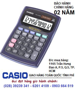 Casio WD-220MS-BU, Máy tính tiền Casio WD-220MS-BU loại 12 số Digits chính hãng| CÒN HÀNG