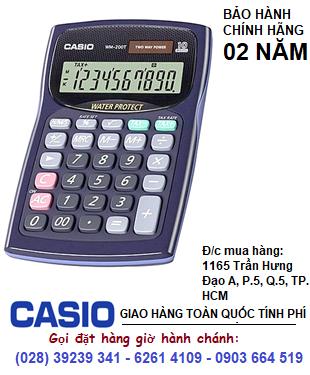 Casio WM-200T, Máy tính tiền Casio WM-200T loại 10 số DIgits chính hãng| HẾT HÀNG
