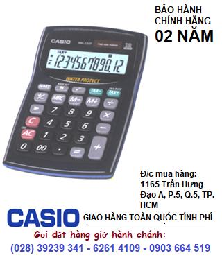 Casio WM-220MS, Máy tính tiền Casio WM-220MS loại 12 số Digits chịu Nước &Bụi| CÒN HÀNG