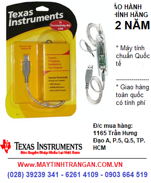 Bộ kết nối TI  (Ti-Connectivity Kit USB)- Connect Ti Graphing Handheld to Your Computer of Texas Instrument | CÒN HÀNG