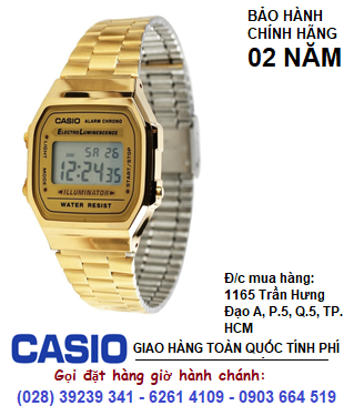 Casio A168WG-9WDF; Đồng hồ điện tử Casio A168WG-9WDF chính hãng| Bảo hành 2 năm