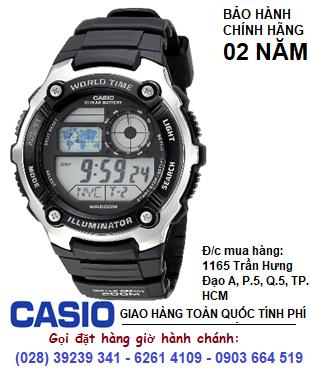 Casio AE-2100W-1AVDF; Đồng hồ điện tử Casio AE-2100W-1AVDF chính hãng| Bảo hành 2 năm