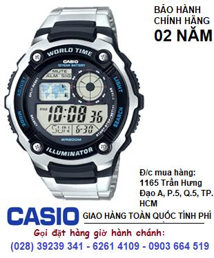 Casio AE-2100WD-1AVDF; Đồng hồ điện tử Casio AE-2100WD-1AVDF chính hãng| Bảo hành 2 năm