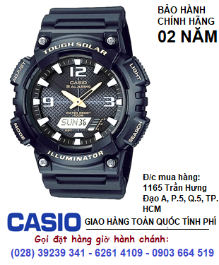Casio AQ-S810W-1BV; Đồng hồ điện tử Casio illuminator Tough Solar AQ-S810W-1BV| Bảo hành 2 năm