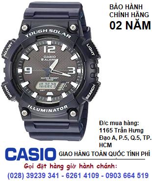 Casio AQ-S810W-2A2V; Đồng hồ điện tử Casio illuminator Tough Solar AQ-S810W-2A2V| Bảo hành 2 năm