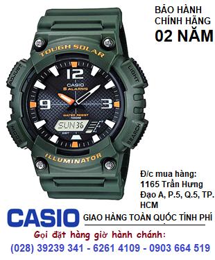 Casio AQ-S810W-3AV; Đồng hồ điện tử Casio illuminator Tough Solar AQ-S810W-3AV chính hãng| Bảo hành 2 năm