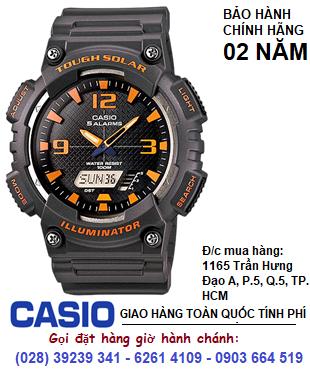 Casio AQ-S810W-8AV; Đồng hồ điện tử Casio illuminator Tough Solar AQ-S810W-8AV chính hãng| Bảo hành 2 năm