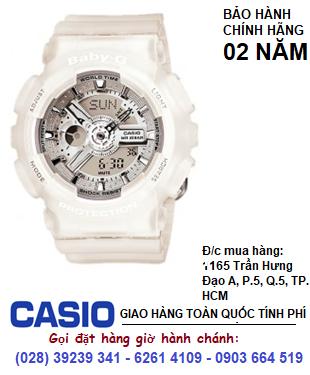 Casio Baby-G BA-110-7A2, Đồng hồ Baby-G BA-110-7A2 chính hãng| Bảo hành 2 năm