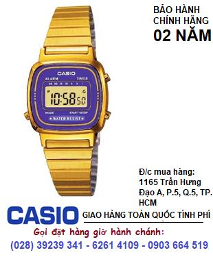 Casio LA670WGA-6DF , Đồng hồ điện tử Casio LA-670WGA-6DF chính hãng| Bảo hành 2 năm