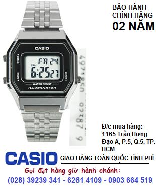 Casio LA680WA-1BDF; Đồng hồ điện tử Casio LA680WA-1BDF chính hãng| Bảo hành 2 năm