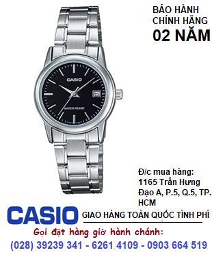 Casio  LTP-V002D-1AUDF; Đồng hồ Nữ Casio LTP-V002D-1AUDF chính hãng| Bảo hành 2 năm