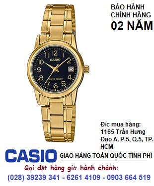 Casio LTP-V002G-1BUDF: Đồng hồ Nữ Casio LTP-V002G-1B chính hãng| Bảo hành 2 năm