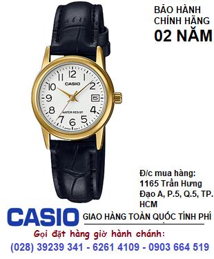 Casio LTP-V002GL -7B2UDF; Đồng hồ Nữ Casio LTP-V002GL -7B2UDF chính hãng| Bảo hành 2 năm