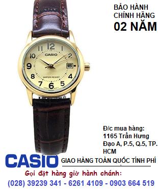 Casio LTP-V002GL-9BUDF; Đồng hồ Nữ Casio LTP-V002GL-9BUDF chính hãng| Bảo hành 2 năm