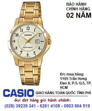 Casio LTP-V004G-9BUDF; Đồng hồ Nữ Casio LTP-V004G-9BUDF chính hãng| Bảo hành 2 năm