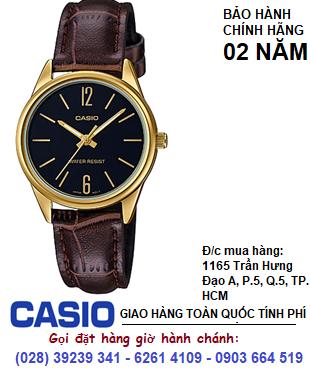 cASIO LTP-V005GL-1BUDF; Đồng hồ Nữ Casio LTP-V005GL-1BUDF chính hãng| Bảo hành 2 năm