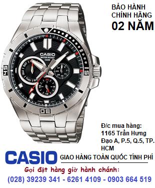 Casio MTP-1060D-1AVDF; Đồng hồ Nam Casio MTP-1060D-1AVDF chính hãng| Bảo hành 2 năm