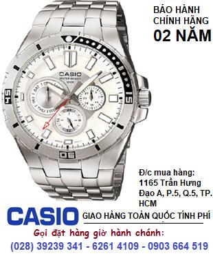 Casio MTP-1060D-7AVDF; Đồng hồ Nam Casio MTP-1060D-7AVDF chính hãng| Bảo hành 2 năm